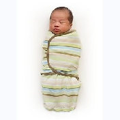 SwaddleMe Wavy Stripe (Neutral).