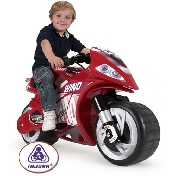 Injusa Ride on Kids Electric Wind Motorbike - 6v